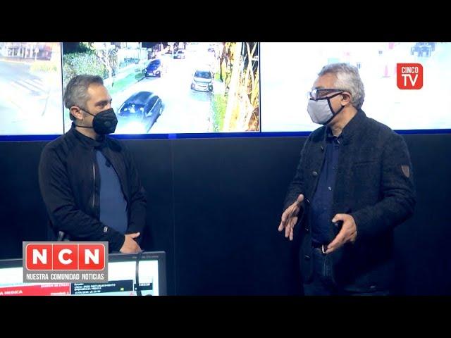 CINCO TV - Julio Zamora y Andrés Larroque recorrieron el Centro de Aislamiento COVID-19