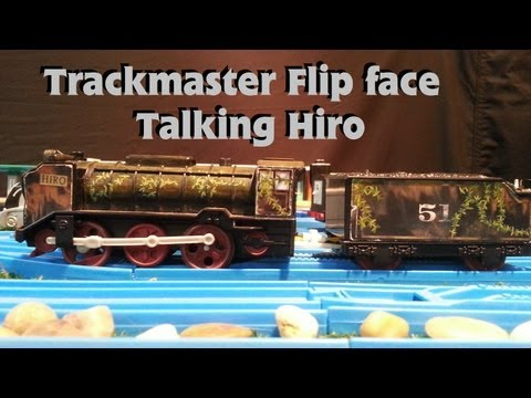 RARE 2009 Trackmaster Talking flip face Lost and Found Hiro, review and run.