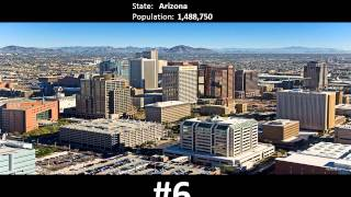 TOP 10 Biggest USA Cities as of February 2014