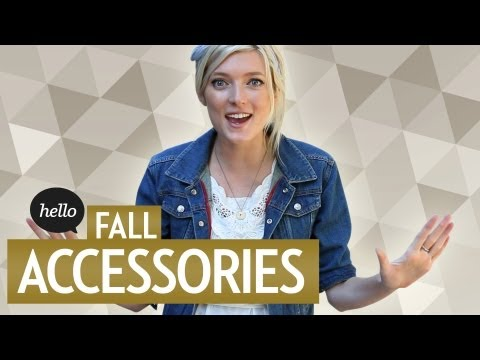 Trendy & Unique Fall Accessories | Hello Street Style