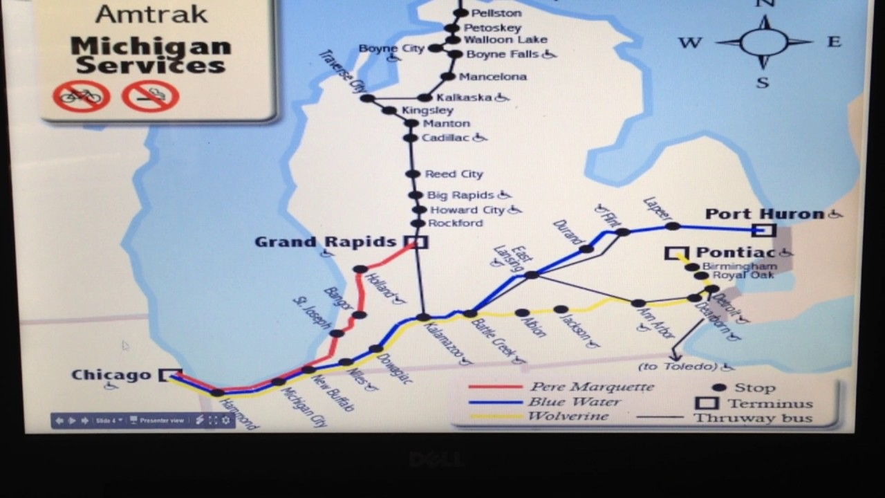 System Maps For Amtrak Youtube