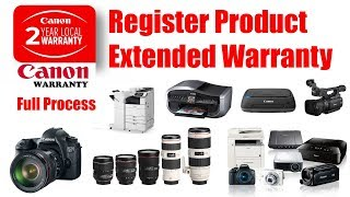 Canon Warranty Registration 2 Years Full Process | Canon Warranty Check DSLR-Lens-Printer-Projector