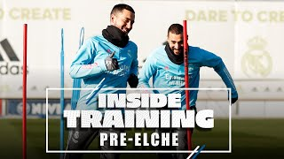 😃 Hazard, Benzema, Ramos and co. ready to go ahead of Elche!