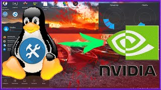 Как для новичка на линуксе установить драйвера и убрать тиринг ???