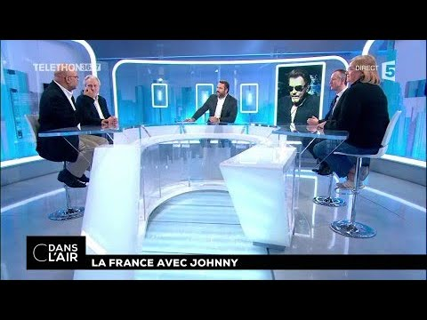 La France avec Johnny 09.12.2017 #cdanslair