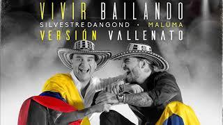 Silvestre Dangond, Maluma - Vivir Bailando Vallenato Version -