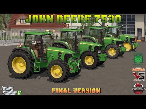 FARMING SIMULATOR 17 JOHN DEERE 7430 - 7530 DYNAMIC HOSE  | ALEX FARMER