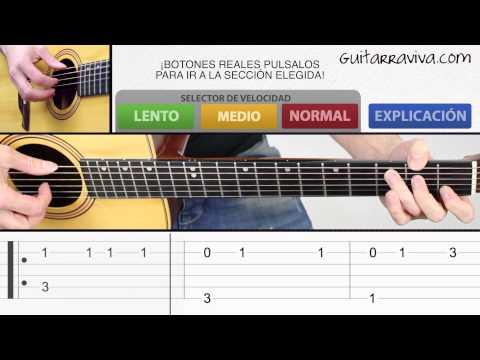 Tocar Titanic en guitarra acústica FACIL tutorial completo con TABS TAB clasica criolla