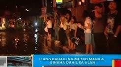 BP ;Ilang bahagi ng Metro Manila, binaha dahil sa ulan