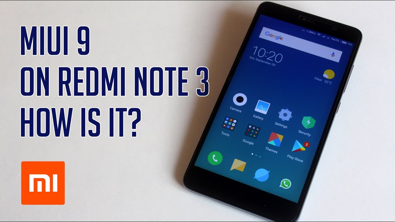 How to Install MIUI 9 On Redmi Note 3 With TWRP Recovery