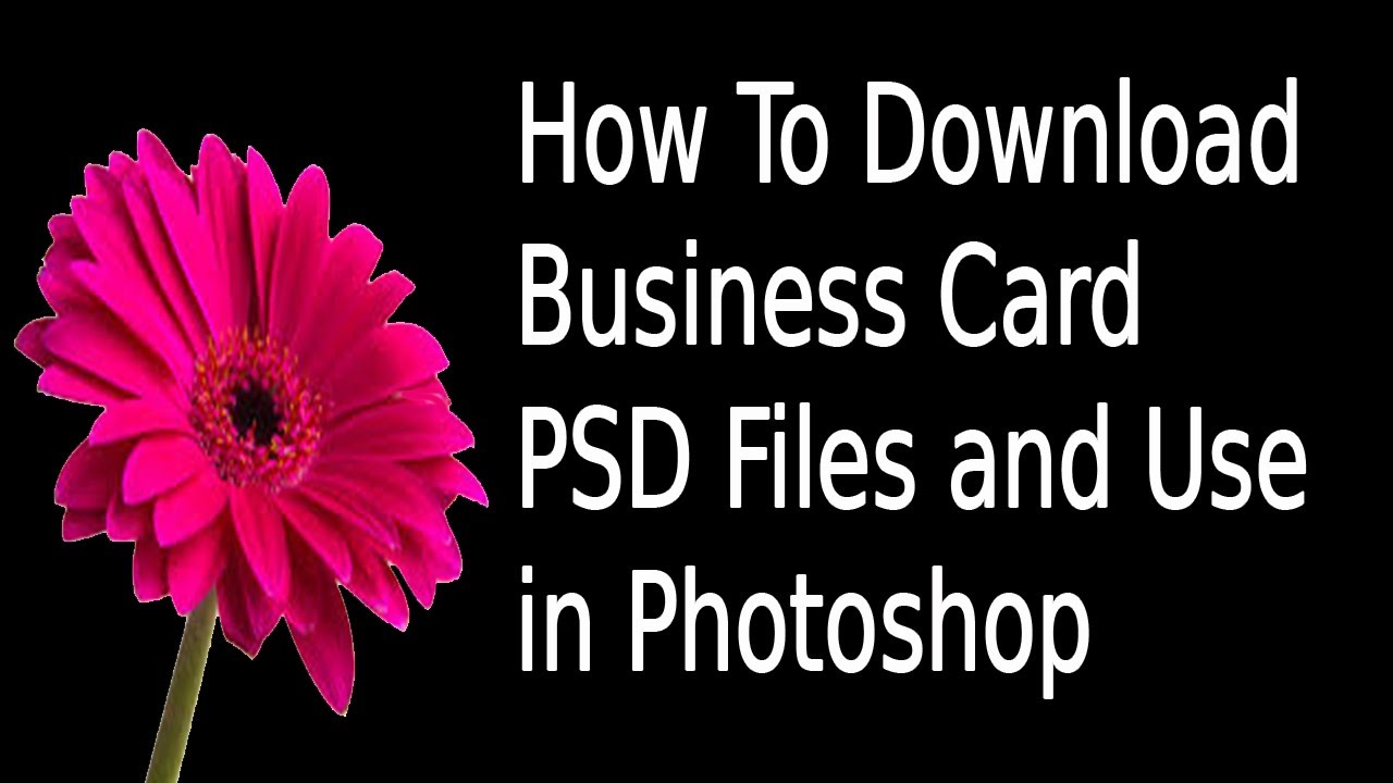 How to download business card psd files and use in photoshop in how to download business card psd files and use in photoshop in tamil reheart Images