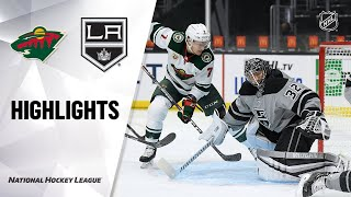 NHL Highlights | Wild @ Kings 1/16/21