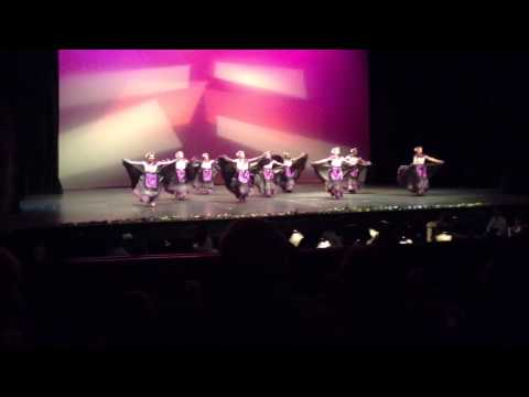 The Mexicans folk dance group. Fandangos