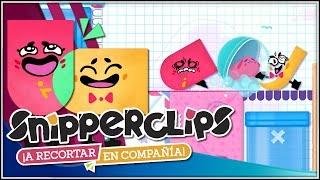 El cuaderno travieso!!! | 02 | SnipperClips: A recortar en compañía con @Dsimphony (Switch)