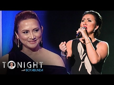 TWBA: Ayen Munji-Laurel misses singing