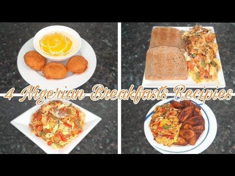 4 Popular Nigerian Breakfast Recipes