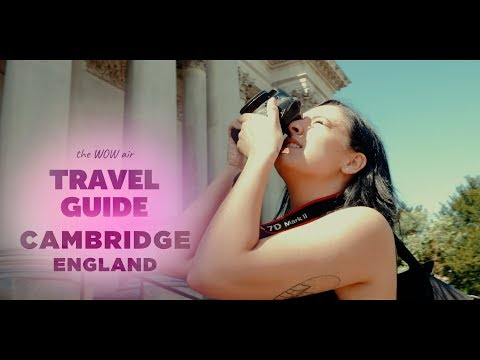 WOW Air Travel Guide Application - Cambridge, UK