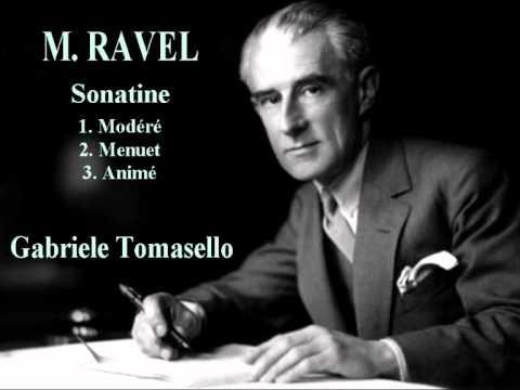 Maurice Ravel - Sonatine pour piano
