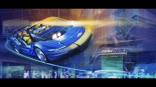 360º Ride on Test Track 2.0 at EPCOT