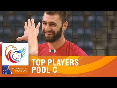 Top Players | Pool C | LOTTO EUROVOLLEY POLAND 2017