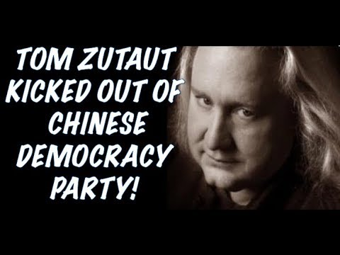 Guns N' Roses: Tom Zutaut Gets Kicked Out of a Chinese Democracy Party! The True Story!