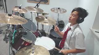 11 year old does Sigala, Ella Eyre, Meghan Trainor   Just Got Paid - (Drum cover) Video