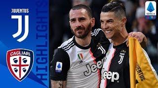 Juventus 4-0 Cagliari | Ronaldo segna la prima tripletta in A e travolge il Cagliari | Serie A TIM