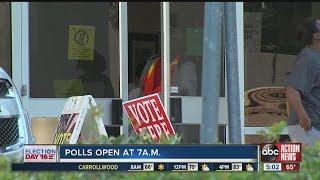 بالفيديو.. إقبال غير مسبوق على صناديق الاقتراع بالانتخابات الأمريكية