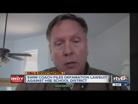 Former Fishers swim coach files defamation lawsuit after charges dismissed