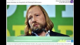 Deutschlandfunk vs. Hofreiter #Qualitätsjournalismus 15.03.2019 - Bananenrepublik