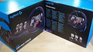 فتح صندوق عجلة القيادة Logitech G29