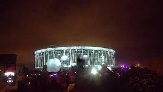Световое(лазерное) шоу Санкт-Петербург 2018 СКК 04.11.2018 продолжение