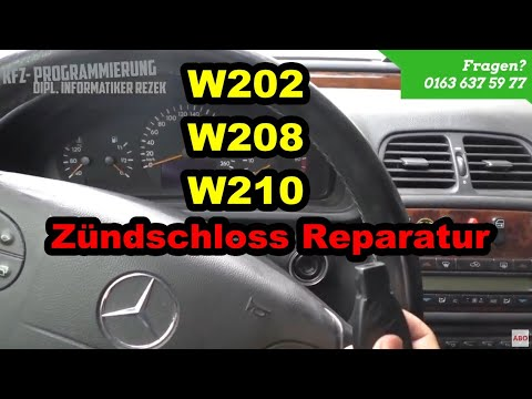 mercedes benz w202 w208 w210 z ndschloss ezs reparatur. Black Bedroom Furniture Sets. Home Design Ideas
