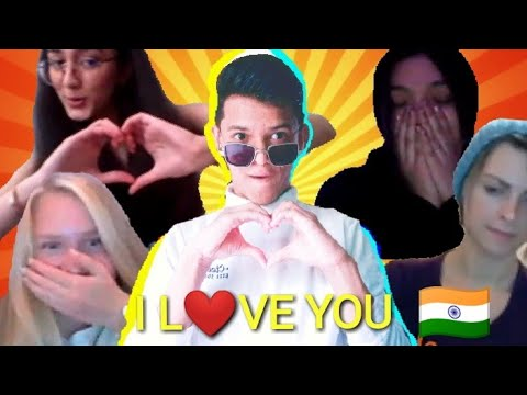 Indian Proposing Girls On Omegle | An Indian Omegler