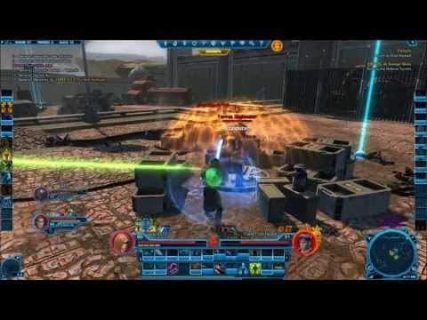 "Let's Play SWTOR Makeb Part 5 ""Time To Do Blow Up An Anti-Air Gun With Others"""