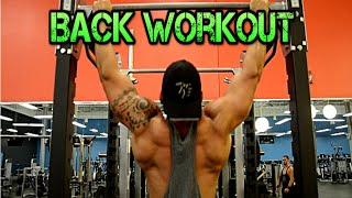 Back Workout, How to Get Wider Lats! ft. Nicky Swollz 2015