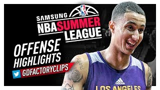 Kyle Kuzma Finals MVP Offense Highlights (2017 Summer League) - LA Lakers Debut!