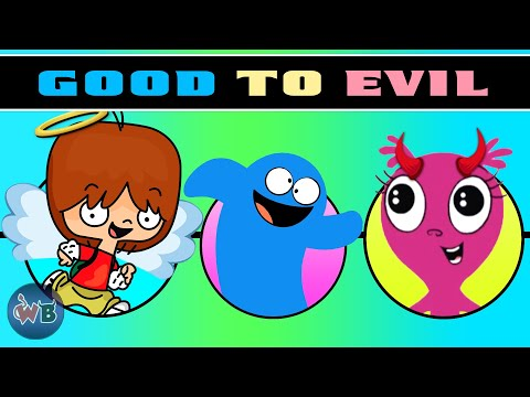 Foster's Home for Imaginary Friends Characters: Good to Evil 👹