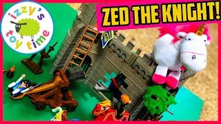 ZED THE KNIGHT!!! Playmobil Toys for Kids! Adventure Set Knights PLAYSET