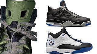 Air Jordan 6 TAKE FLIGHT, Jordan 4 ALTERNATE MOTORSPORT, Jumpman PRO QUICK, Spizike CEMENT and More