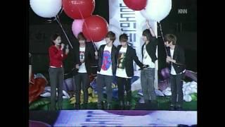 SHINee at Gyeongnam Sports Festival 100422