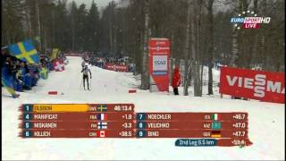 World Championship Falun 2015 Cross Country Skiing Relay Men 4 x 10 Km