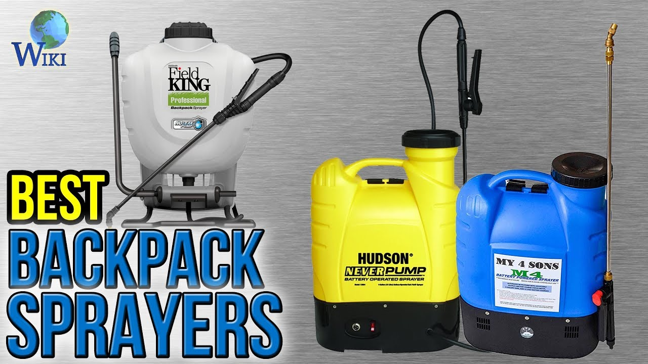 10 Best Backpack Sprayers 2017