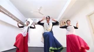 Dance Choreography || Mohe Rang Do Lal || Bajirao Mastani|| Choreographed by Shamistha