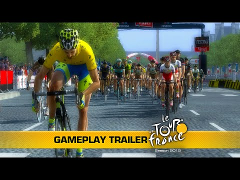 TOUR DE FRANCE 2015 ON CONSOLES: GAMEPLAY TRAILER