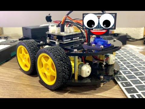 How To Build Arduino Robot Cars For Kids - Tech Toys For Kids - Elegoo Uno Project Smart ROBOT Car