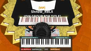 Erika German Marching Song on ROBLOX Piano