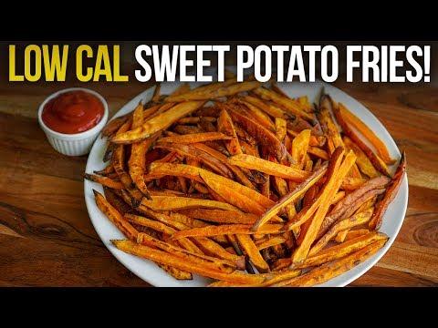 Quick & Healthy Sweet Potato Fry Recipe!
