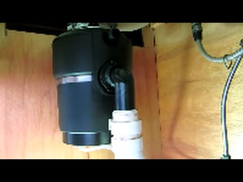 garbage disposal replacement:plumbing