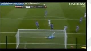 2-0 Golazo Raul al Valladolid (audio Manolo Lama, cadena ser)